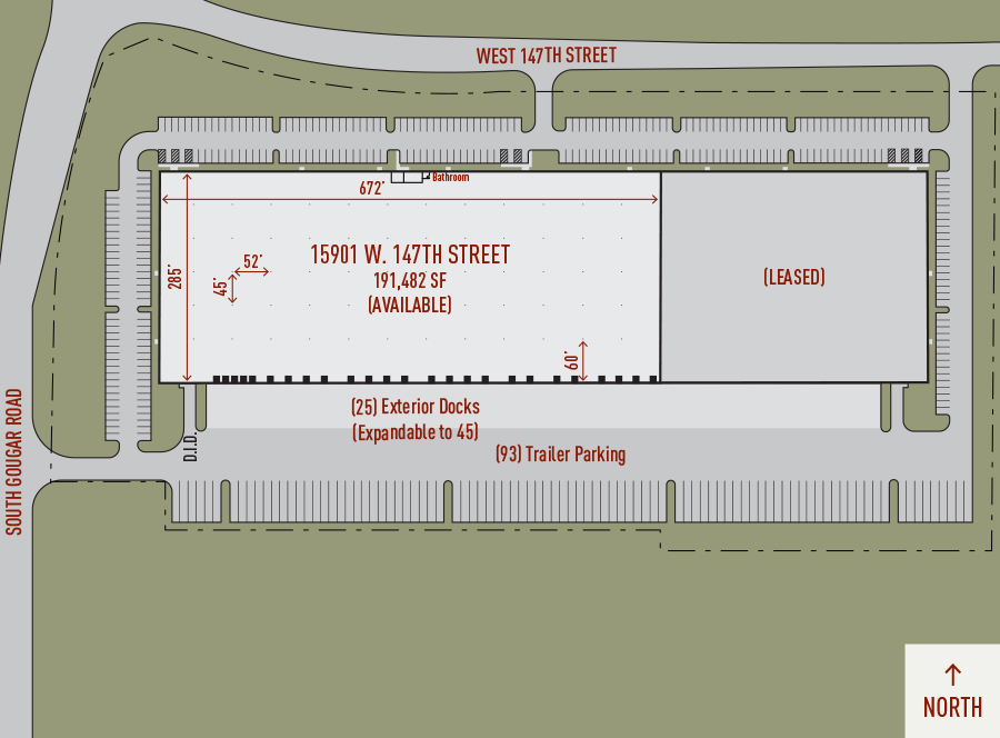 Illustrated plan of Heritage Crossing Building 9